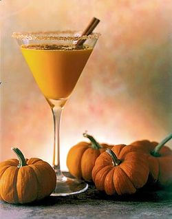 Smashing Pumpkin Martini